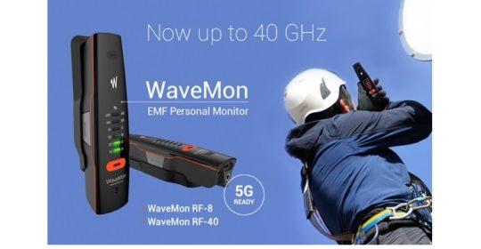 WaveMon RF-40 5G-valmiudella