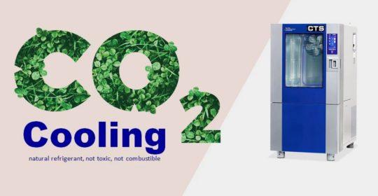 CTS testikaapit – ympäristöystävällisempi CO₂- kylmäaine